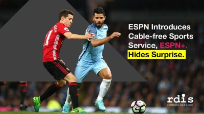 ESPN Introduces Cable-free Sports Service, ESPN+.  Hides Surprise.