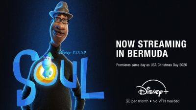 Soul on Disney+ Now Available To Bermuda